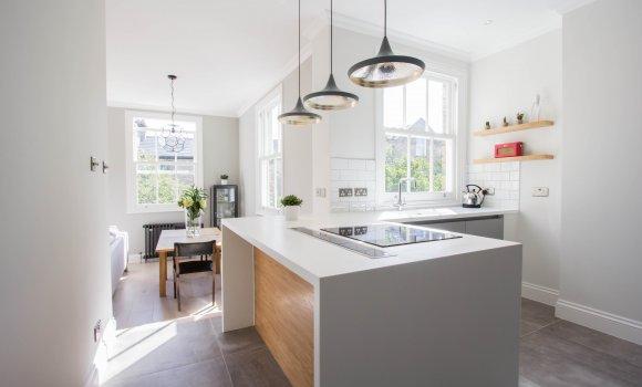 Complete refurbishment light kitchen