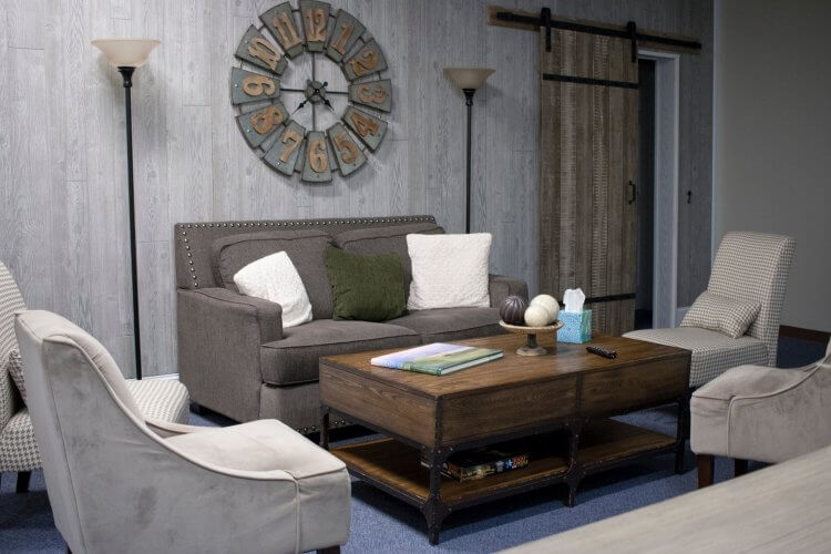 Furniture for basement family room