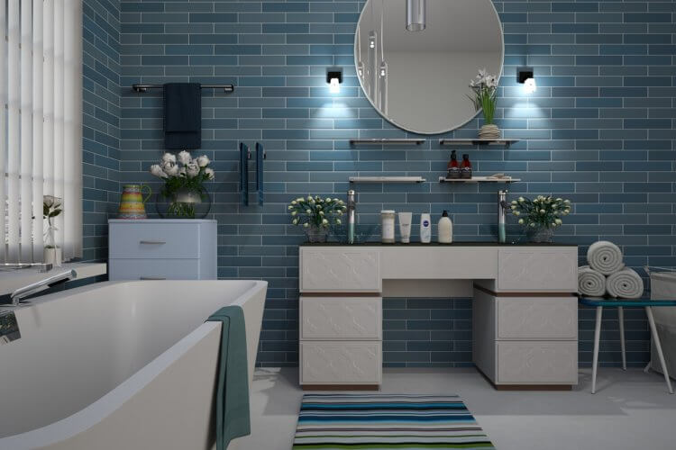 10 ideas for a functional contemporary bathroom